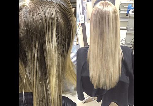 Осветление волос интимных волос