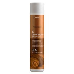 Шампунь Ultra Brown для освежения цвета волос коричневых и каштановых оттенков